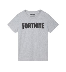 FORTNITE Grey Logo Tee Size L