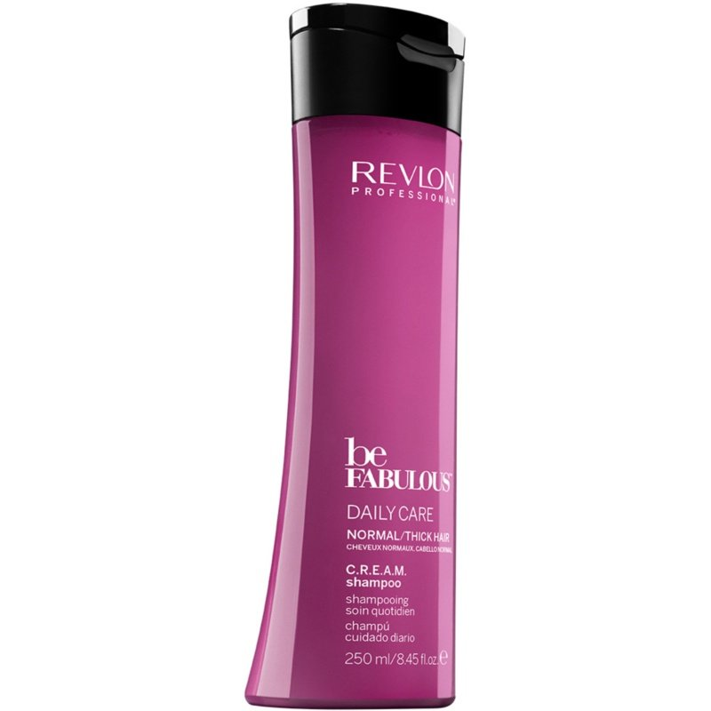 Revlon - Be Fabulous Daily Care Normal/Thick Cream Shampoo 250 ml
