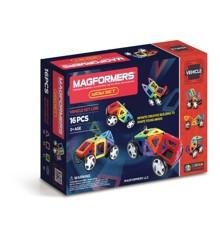 Magformers - Wow sæt - Byg biler - 16 dele
