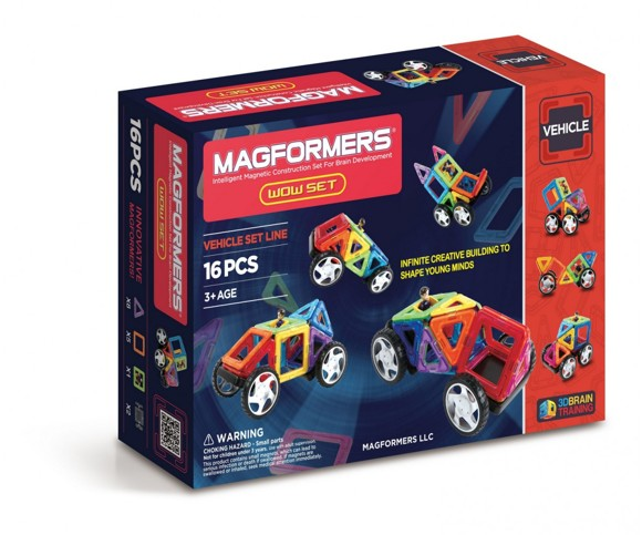 Magformers - Wow Set - 16 pcs (3012)