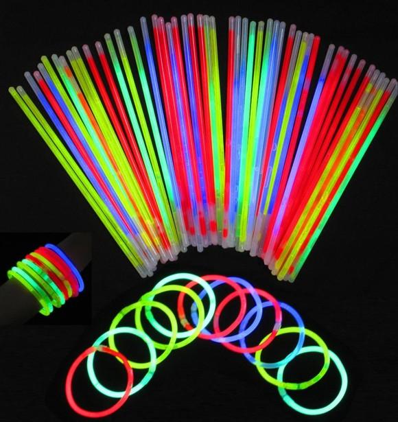 Glow Sticks, Glow, light sticks, bracelets, Party, 15-Pack