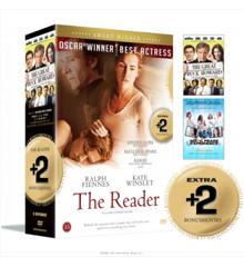The Reader+ bonus movies - The Great Buck Howard / The Marc Pease Experience - DVD