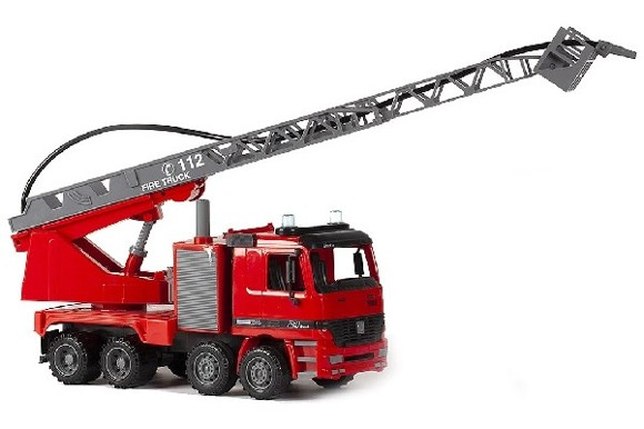 Contruck - Firetruck w. Water tank and Hose 42 cm (520095)