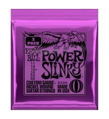 Ernie Ball - Power Slinky - Strenge Sæt Til Elektrisk Guitar (011-048) (3 PAK)