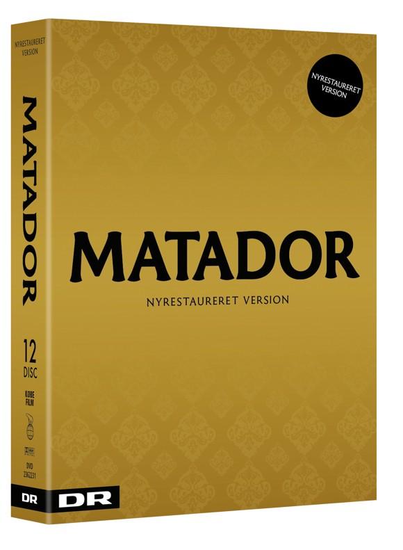Matador - Nyrestaureret udgave 2017 - DVD