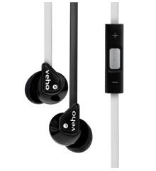 Veho VEP-004-Z2BW Stereo Lydisolerende Hovedtelefoner