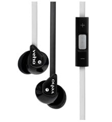 Veho VEP-004-Z2BW Stereo Sound Isolating Earphones