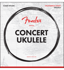 Fender - California Coast - Strenge Til Concert Ukulele