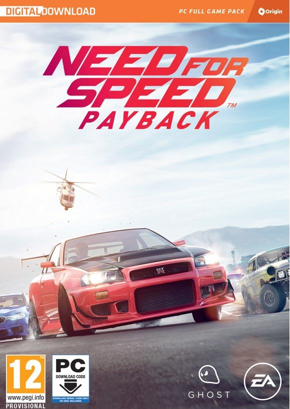 Need for Speed Payback (Nordic) (Code via Email)