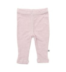 Smallstuff - Leggins Merino Wool Jaquard - Powder
