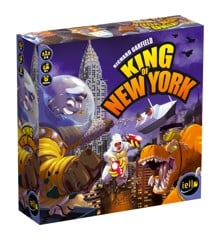 King of New York Brætspil, Engelsk