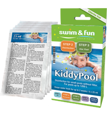 Swim &  Fun - KiddyPool - Disinfection small pools