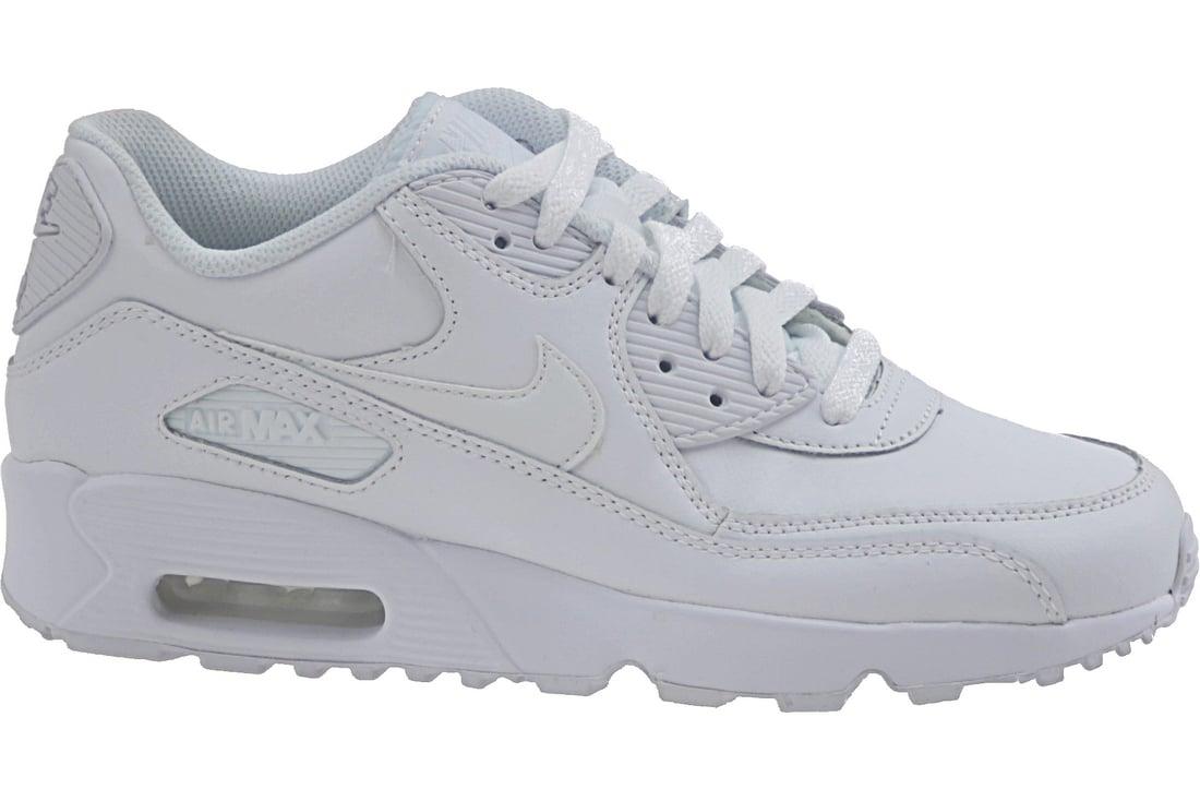 Köp Nike Air Max 90 Ltr GS 833412 100, Kids, White, sneakers