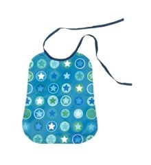 Smallstuff - Eating Bib Large - Petrol/Green (26001-6)