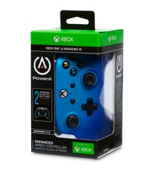 PowerA Xbox One Enhanced Wired - Sapphire Fade
