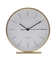 House Doctor - Hannah Table Clock - Gold (EA0700)