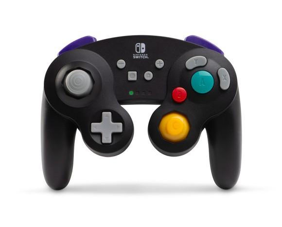 PowerA Wireless Controller Gamecube Style Black