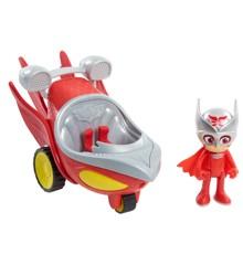 PJ Masks - Speed Boosters Køretøj - Owlette (10-95230O)