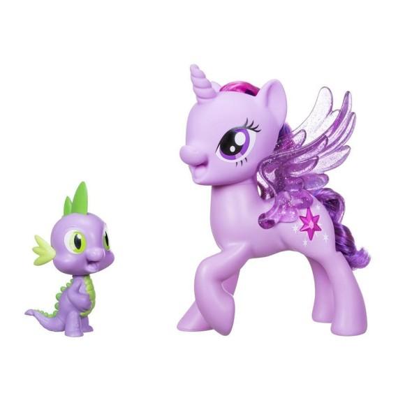 My Little Pony - Prinsesse Twilight og Dragen  Sparkle Spike  - Venskabs Duet