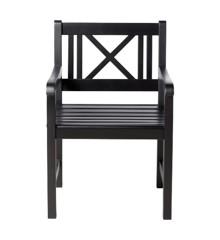 Cinas - Rosenborg Garden Chair - Black (3500021)