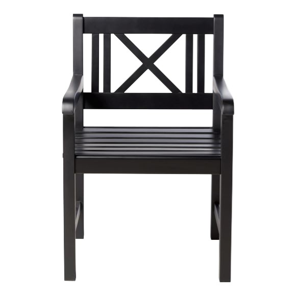 Cinas - Rosenborg Garden Chair - Black (3500021)