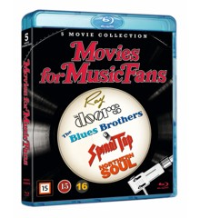 Ray/The Doors/The Blues Brothers/This Is Spinal Tap/Northern Soul - Collection (Blu-ray)