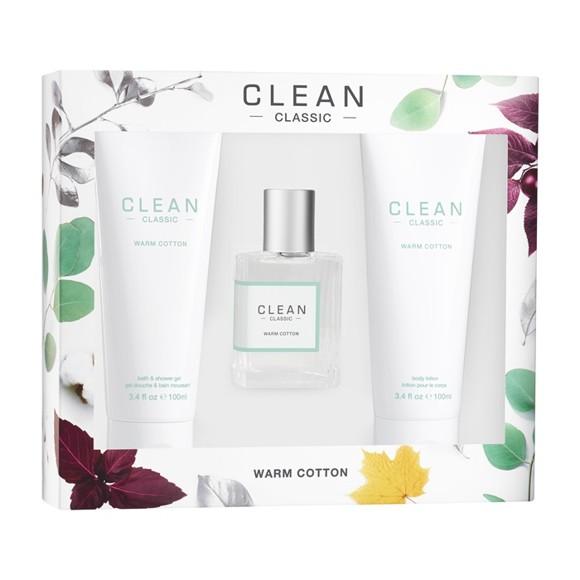 Clean - Warm Cotton Deluxe Set