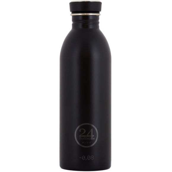 24 Bottles - Urban Bottle 0,5 L - Tuxedo Black (24B6)