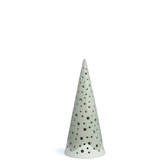 Kähler - Nobili Candle Holder Small - Steel grey (692420)