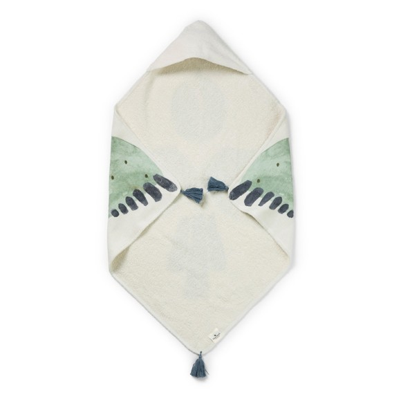Elodie Details - Hooded Towel - Watercolor Wings