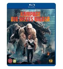Rampage (Dwayne Johnson)(Blu-Ray)