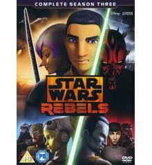 Star Wars Rebels: Sæson 3 - DVD