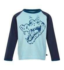 MINYMO - T-Shirt Langærmet m. Krokodille