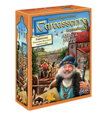 Carcassonne - Abbey & Mayor (Nordic)