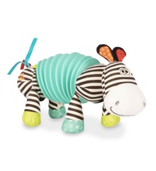 B. Toys - Squeezy Zeeby - Soft Zebra Accordion (1534)