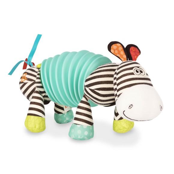 B. Toys - Squeezy Zeeby - Soft Zebra Accordion (1534)
