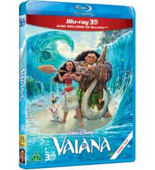 Disneys - Vaiana (3D + 2D Blu-Ray)