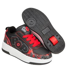 Heelys - Strike - Sort/Rød/Web Print - Str. 34 (POP-B1W-0067)