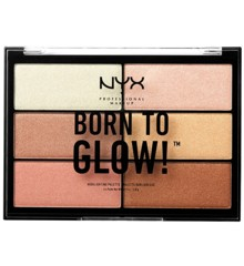 NYX Professional Makeup - Born To Glow Highlighter Palette