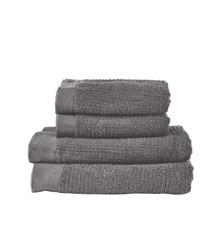 Zone - Classic Håndklæde Sæt - Klassik Grå