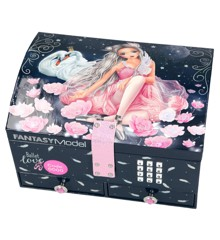 Top Model - Jewlery Box with Lock and Music Ballet (0410197)