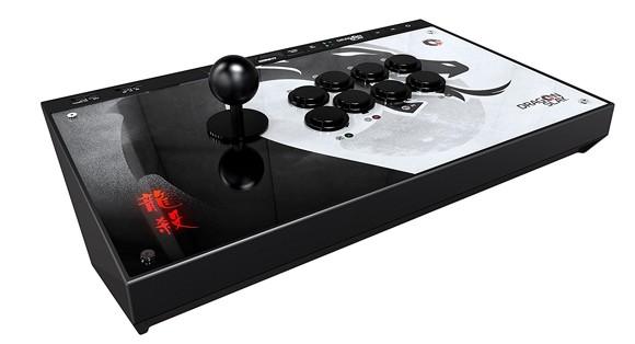 DRAGON SLAY Universal Arcade Fight Stick Controller - 8-knapp Kompatibel med PS4, Xbox One, PC och Android