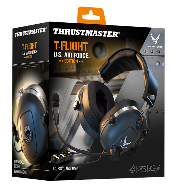 T. Flight U.S. Airforce Headset