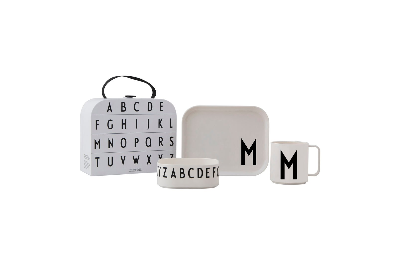 Design Letters - Gift Box Tritan Eating Set - M (20201500M)
