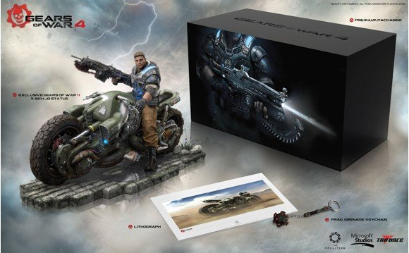 Gears of War 4 Collector's Edition PVC Statue JD Fenix (No Game included)