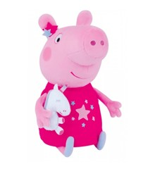 Peppa Pig - Plush with Unicorn (23801)