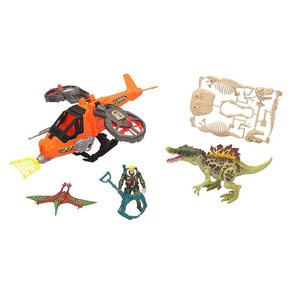 Dino Valley - Steelhawk and Dino Playset (542056)
