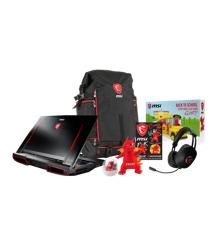 MSI - Gaming Hecate Backpack + headset Bundle