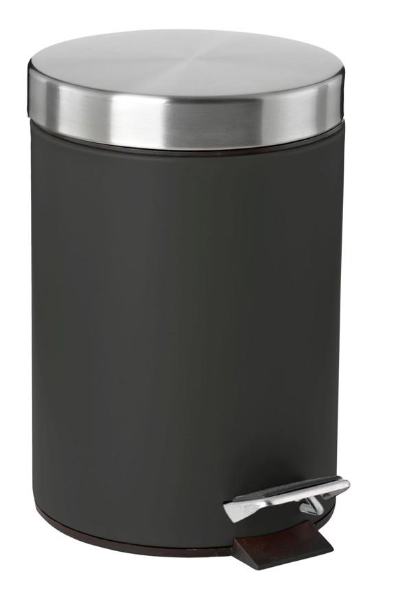 Zone - Confetti Pedal Bin - Black (861412)