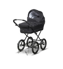 TRILLE - Fix Standard Pram - Black